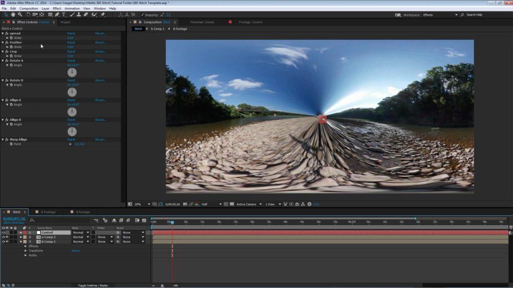 360 Video Stitching Template