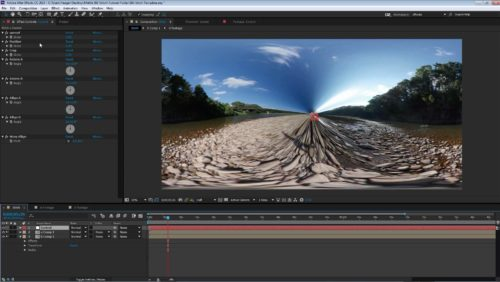 360 Video Stitching Template