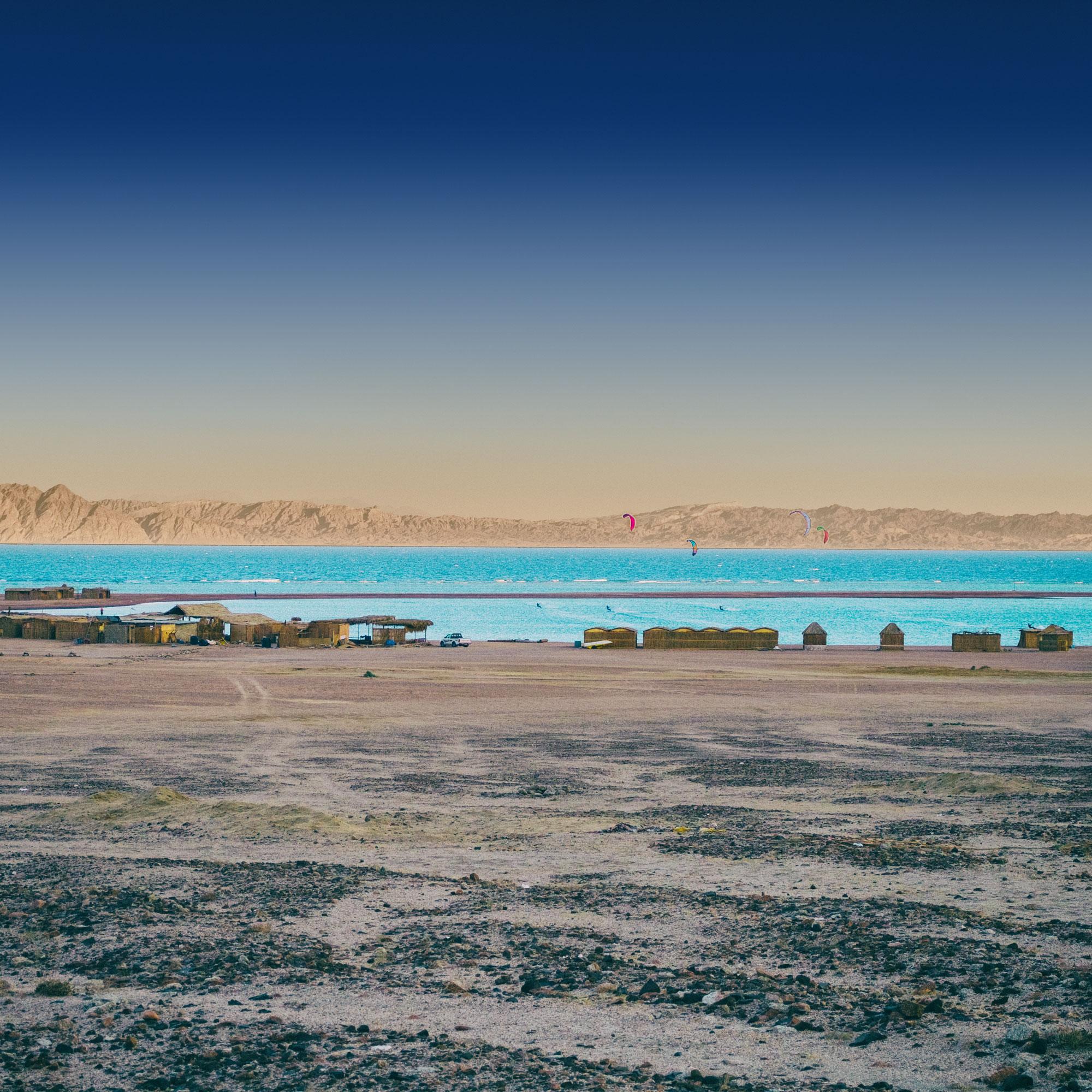 BlueLagoon Kitecamp in Dahab